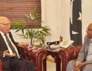 اسلامآباد، سارک سیکرٹری جنرل احمد سلیم دفتر خارجہ میں مشیر خارجہ ..