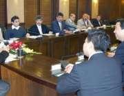 لاہور، چینی گروپ شین ڈونگ ریائی کے چئیرمین کی سربراہی میں وفد وزیراعلی ..