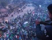 لاہور: جشن عید میلاد النبی صلی اللہ علیہ وآلہ وسلم کے موقع پر ریلی کی ..