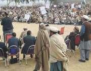 لوئر دیر: میدان قومی اتحاد کا سانحہ شکور کیخلاف لال قلعہ میدان میں احتجاجی ..
