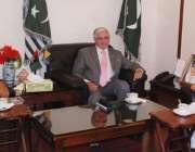 اسلام آباد: صدر آزاد کشمیر یعقوب خان اور وزیراعظم عبدالمجید سے مولانا ..