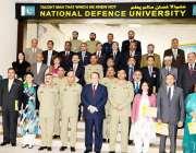 اسلام آباد: وزیر اعظم نواز شریف کا نیشنل ڈیفنس یونیورسٹی میں قومی سلامتی ..