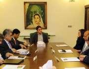 کراچی ، تعلیمی این جی او الف اعلان کا وفد بلاول ہائوس میں پیپلزپارٹی ..