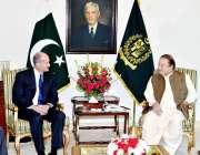 اسلام آباد: وزیر اعظم نواز شریف سے جنرل الیکٹرک کے صدر جون رائس ملاقات ..