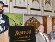 اسلام آباد ، وفاقی وزیر سکندر حیات بوسن موسمیاتی تبدیلی کے تناظر میں ..