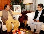 اسلام آباد: صدر ممنون حسین سے آزاد کشمیر کے سابق وزیر اعظم راجہ فاروق ..