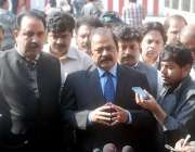 لاہور ، وزیر قانون و بلدیات رانا ثنا اللہ خان پنجاب اسمبلی کے اجلاس ..