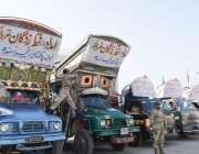 کراچی ، پاکستان رینجرز کی جانب سے تھرپارکر کے متاثرین کیلئے امدادی ..