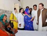 تھر پارکر، وزیراعظم نواز شریف مٹھی کے ہسپتال میں قحط سالی سے متاثرہ ..