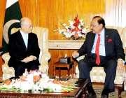 اسلام آباد، انٹرنیشنل اٹامک انرجی ایجنسی کے ڈائریکٹر جنرل یوکیا آمانو ..