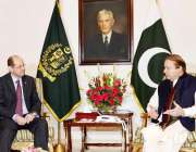 اسلامآباد، برطانوی ہائی کمشنر فلپ بارٹن وزیراعظم نواز شریف سے ملاقات ..
