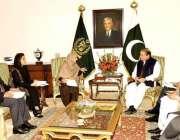 اسلام آباد، نیشنل پولیو ٹاسک فورس کی ایگزیکٹو کمیٹی کا وفد سائرہ افضل ..