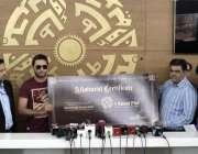 کراچی ، ایشیا کپ میں بھارت کیخلاف شاندار کارکردگی پر بحریہ ٹائون کی ..