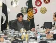 اسلامآباد، چوہدری نثار علی خان امن و امان سے متعلق اعلی سطحی اجلاس ..