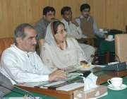 لاہور ، وفاقی وزیر ریلوے خواجہ سعد رفیق ریلوے کی زمینوں کو کمپیوٹرائزڈ ..