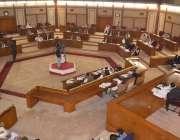 کوئٹہ:بلوچستان اسمبلی کے اجلاس کا منظر، ڈاکٹر عبدالمالک بلوچ بھی اجلاس ..