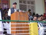 کوئٹہ ، سپورٹس فیسٹول 2014کی افتتاحی تقریب سے وزیراعلی بلوچستان ڈاکٹر ..
