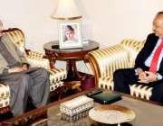 اسلام آباد، سینیٹ میں قائد ایوان سینیٹر راجہ ظفر الحق ایوان صدر میں ..