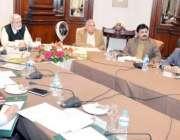 لاہور: مشیر وزیر اعلیٰ پنجاب و چیئرمین ایل ڈبلیو ایم سی خواجہ احمد حسان ..