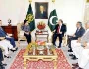 اسلام آباد، ورلڈبینک کی سربراہ سری مولیانی اندراوتی وزیراعظم نواز ..