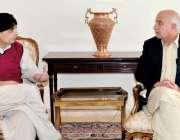 اسلام آباد، وزیراعلی بلوچستان ڈاکٹر عبدالمالک بلوچ وزیر داخلہ چوہدری ..
