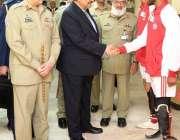 راولپنڈی، صدر مملکت ممنون حسین آرمڈ فورسز انسٹی ٹیوٹ آف ری ہائیبلیٹیشن ..
