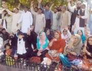 لاہور، پنجاب ٹیچر یونین کے زیر اہتمام اساتذہ اپنے مطالبات کے حق میںپنجاب ..