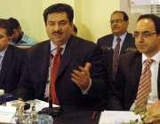 راولپنڈی، وفاقی وزیر برائے تجارت خرم دستگیر چیمبر آف کامرس میں تاجر ..