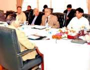 اسلام آباد، وزیراعظم نواز شریف قومی سلامتی کونسل کے اجلاس کی صدارت ..