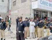کوئٹہ، وکلا اور پولیس میں تصادم کے بعد پولیس اہلکار منان چوک میں الرٹ ..