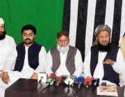 حیدر آباد، جمعیت علمائے اسلام س کے مرکزی رہنما اور طالبان کی مرکزی ..