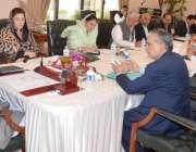 اسلامآباد، وزیراعظم نواز شریف پی ایم یوتھ سکیم سے متعلق اجلاس کی ..