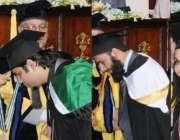 اسلام آباد، صدر مملکت ممنون حسین فائونڈیشن یونیورسٹی کے کنووکیشن کے ..