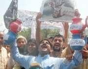 لاہور،آل پاکستان کلرک ایسوسی ایشن کے ملازمین اپنے مطالبات کے حق میں ..