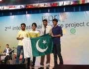 پاک ترکی سکول کے طلبا انڈونیشا میں عالمی مقابلہ میں تیسرا انعام جیتنے ..