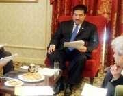 واشنگٹن ڈی سی، وفاقی وزیر تجارت خُرم دستگیر خان ورلڈ بینک کے حکام سے ..