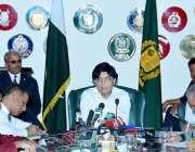 اسلامآباد، وفاقی وزیر داخلہ چوہدری نثار علی خان پریس کانفرنس سے خطاب ..