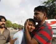 کراچی،جناح انٹرنیشنل ائیرپورٹ پر دہشتگردوںکے حملے میں شہید ہونے ..