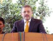 کراچی، سندھ اسمبلی کے اجلاس کے بعد وزیر اطلاعات سندھ شرجیل انعام میمن ..