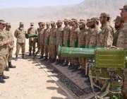 کوئٹہ، کمانڈر سدرن کمانڈ لیفٹیننٹ جنرل ناصر خان جنجوعہ بکتر بند شکن ..