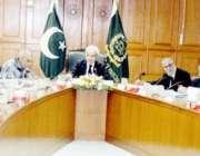 اسلامآباد، چیف جسٹس ناصر الملک فل کورٹ اجلاس کی صدارت کر رہے ہیں۔