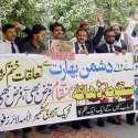 لاہور: جی پی او چوک میں بھارت کے خلاف مظاہرے سے امیر جماعت اسلامی پنجاب ..