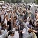 لاہور: پاکستان واپڈا ہائیڈرو الیکٹرک ورکرز یونین کے زیر اہتمام ملازمین ..