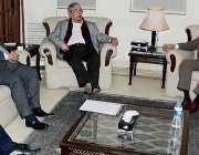 اسلامآباد، خیبرپختونخوا چیمبر آف کامرس کا وفد وزیر خزانہ سینیٹر ..