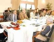 اسلام آباد، وزیراعظم نواز شریف توانائی پر کابینہ کمیٹی کے اجلاس کی ..