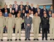 اسلامآباد، صدر مملکت ممنون حسین کا نیشنل ڈیفنس یونیورسٹی میں نیشنل ..