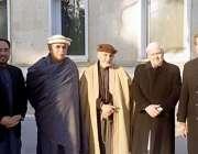 کابل، افغان صدر اشرف غنی سے پاکستانی پشتون رہنماؤں کے وفد کی ملاقات ..