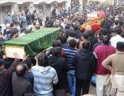 راولپنڈی، امام بارگاہ کے باہر بم دھماکے میں جاںبحق ہونے والے افراد ..