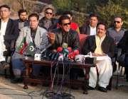 اسلامآباد، تحریک انصاف کے چئیرمین عمران خان پارٹی میں شامل ہونے والے ..