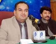 پشاور، مسلم لیگ ن کے اقلیتی رکن صوبائی اسمبلی ڈاکٹر رمیش کمار گیسٹ ..